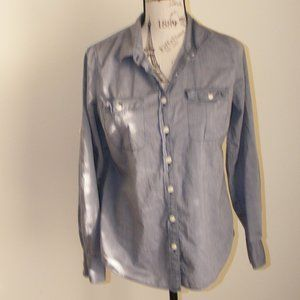 J.Crew The Perfect Shirt Chambray Button Down Top